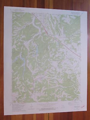 Weingarten Missouri 1980 Original Vintage Usgs Topo Map