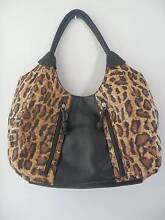 BUENO Animal Print and Faux Leather Handbag Wetherill Park Fairfield Area Preview