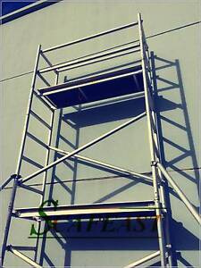 Aluminium Mobile Tower Scaffold Double Bay 2M On SALE!!! Dandenong South Greater Dandenong Preview