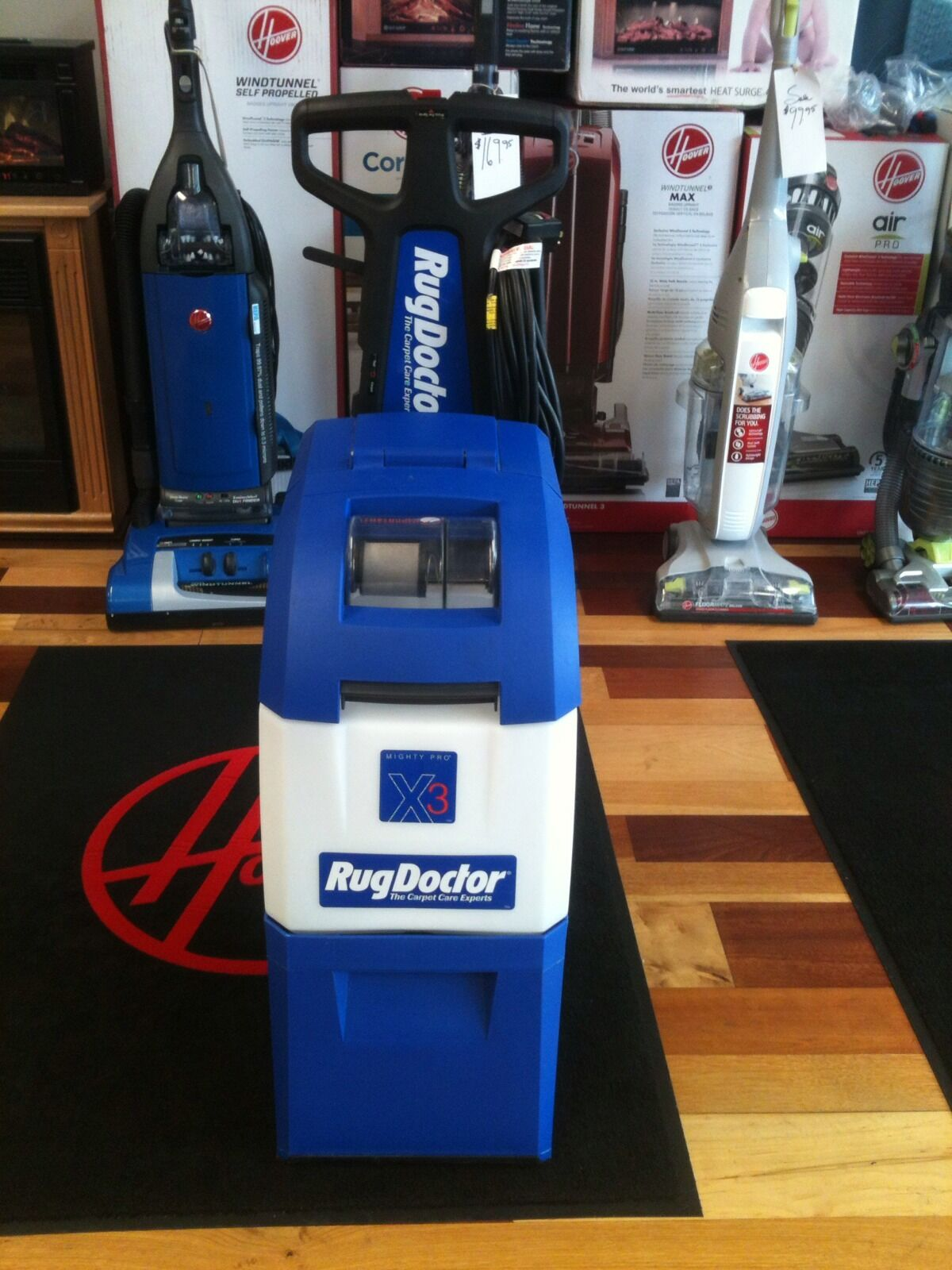 NEW Rug Doctor X3 Mighty Pro Professional Cleaner + Upholste