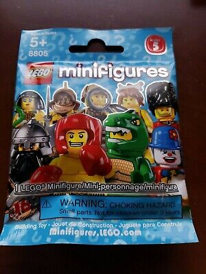 LEGO 8805 Series 5 Collectible Minifigures Choice SEALED Buy 4 = Free Shipping