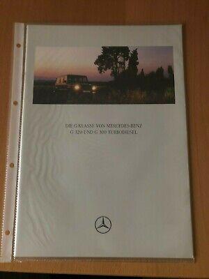 Mercedes-Benz - G-Klasse G320, G300TD - Prospekt - 07/1998