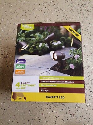 Better Homes and Gardens 4 pc Spotlight Set QuickFIT LED FREE