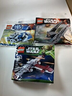 LEGO Star Wars Polybag 30059 MTT BRAND NEW SEALED LOT OF 3 Polybags