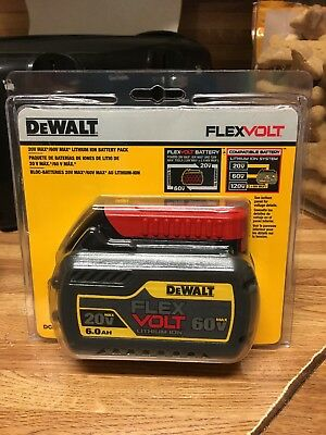DEWALT DCB606 Lithium-ion Battery Pack - 20V/60V