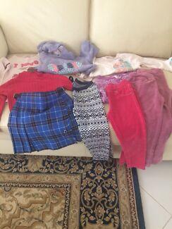 Bulk lot girls size 4 winter clothes