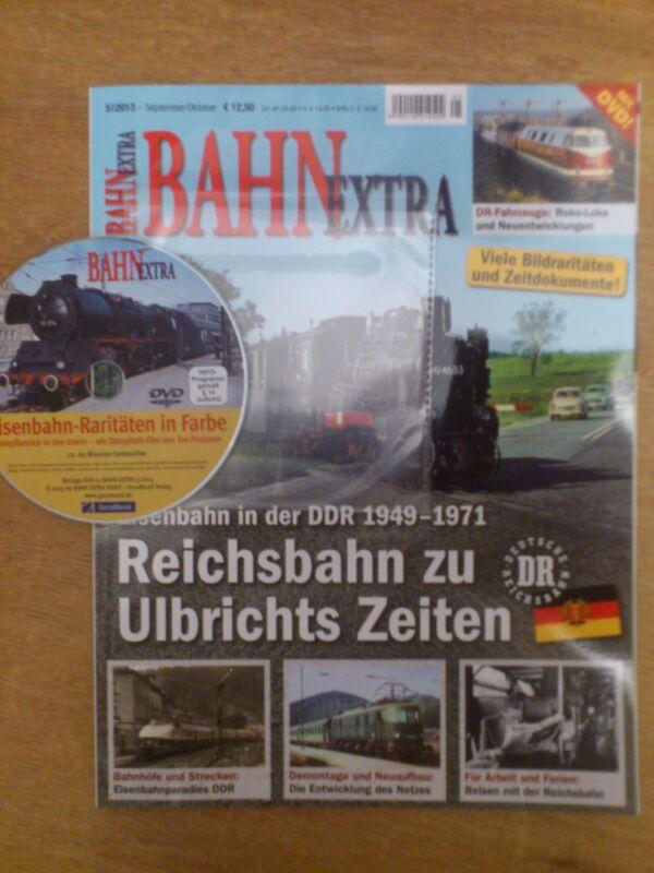 BAHN Extra, Ausgabe 5/2013. Mit DVD.