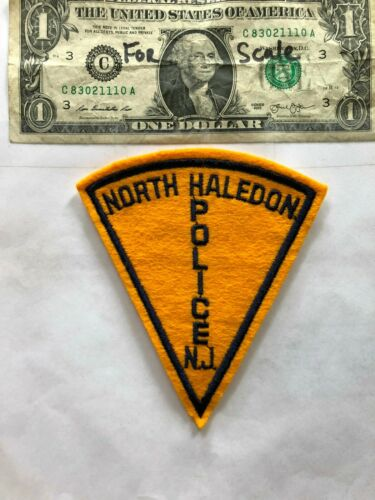 North Haledon New Jersey Police Patch un-sewn Great Shape