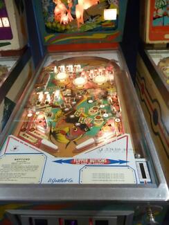 Pinball machine Gottlieb Wedge Head super rare