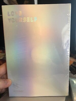 BTS Love yourself結'Answer' 4th Album CD+Poster+Book+Card- VERSIONS S.E.L & F.