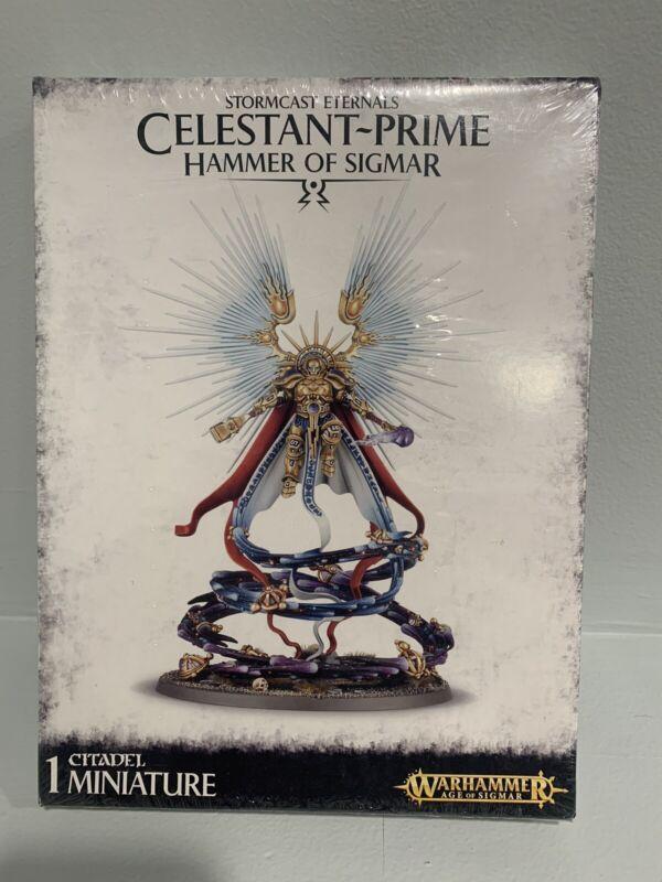 Warhammer - Age of Sigmar - Stormcast Eternals - Celestant-Prime Sealed NIB