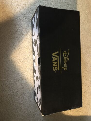 Donald Duck Disney x Vans Shoes Blue White Size Mens 10 Rare Print Sneakers Used