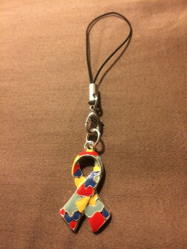 AUTISM CELL PHONE CASE CHARM