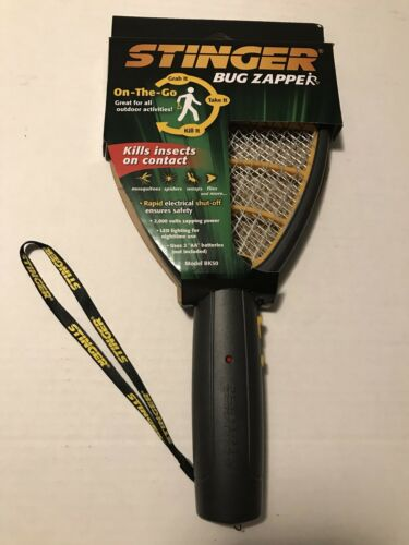 Hand Held Bug Zapper STINGER Insect  Electric Fly Swatter Ra