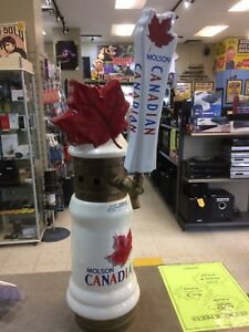 Molson Canadian Beer Tap Tower