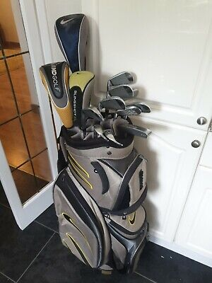 FULL SET OF MENS NIKE PRO COMBO GOLF CLUBS, RIGHT HANDED
