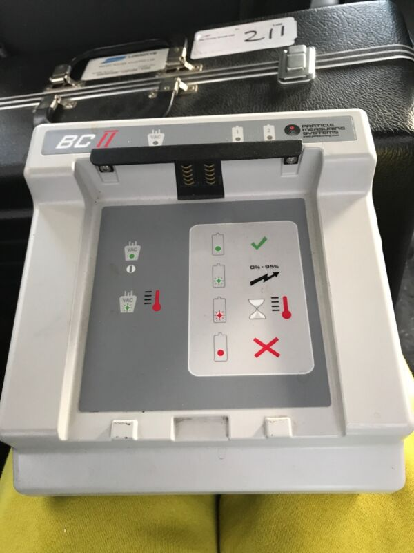 Particle Measuring Systems BC II Portable Particle Counter