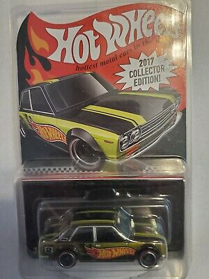 Hot Wheels 2017 Collector Edition K-Mart Mail-In Exclusive Datsun Bluebird 510