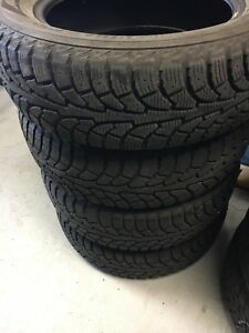 4 winter tires good for 2 or 3 winters 9/32 and 8/32