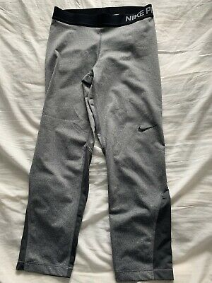 Ladies Nike Pro 3/4 Leggings  Size Small Approx Size 8