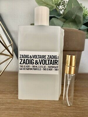 Zadig & Voltaire This is Her EDP 5ml Decant Sample Spray