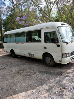 Motor Home Toyota Coaster Delux 1996