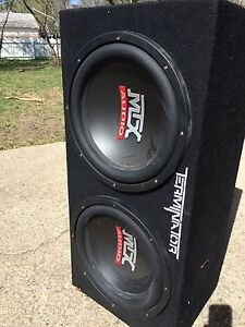 "Dual 10"" subs and 250 watt amp"