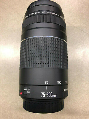 CANON ZOOM LENS 75-300MM 1:4-5.6 III 1.5M/4.9FT 58MM MALAYSIA WITH LENS (Lens Malaysia)