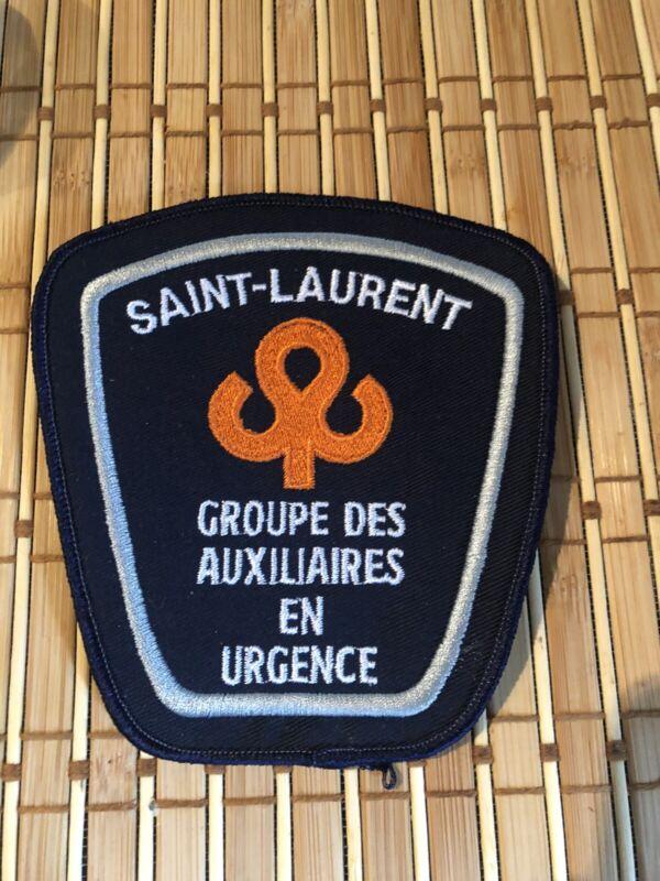 Patch Urgence collection / Saint Laurent Groupe Auxiliaire Patch
