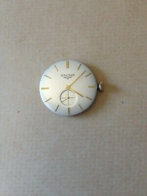 Man's Vintage Longines Watch Movement and Dial . Cal.19.4