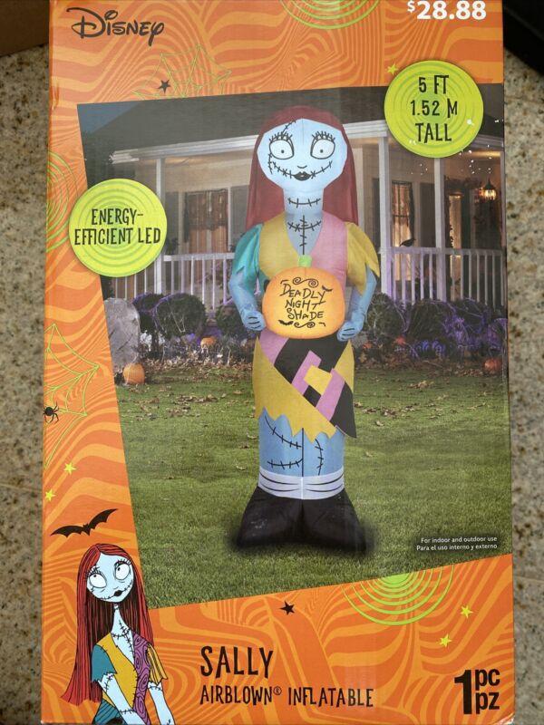 Nightmare Before Christmas Sally Disney Halloween 5 Ft Yard Inflatable