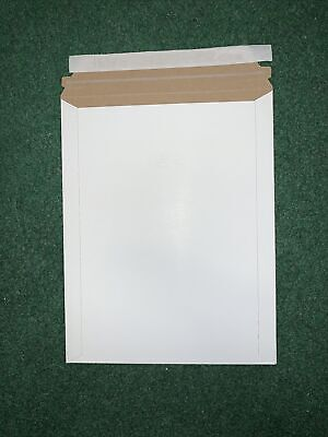 Pack Of 10 9x11.5 Rigid Photo Mailers Envelopes Flat Document Self Seal Mailer