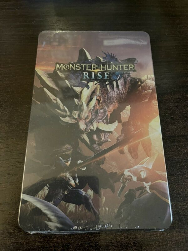 Monster Hunter Rise Steelbook - NO GAME