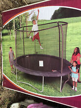 BRAND NEW TRAMPOLINE NET NETTING SAFETY WITH POSTS 10 Ft 3 M Craigie Joondalup Area Preview