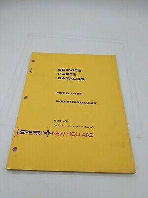 New Holland Service Parts Catalog L-425 Utility Loader 4-80