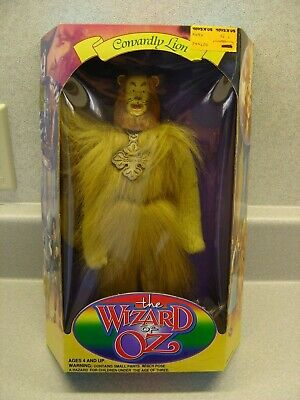 1994 Cowardly Lion of the Wizard of Oz  Doll made by Sky Kids MIB! - Wizard Of Oz Cowardly Lion