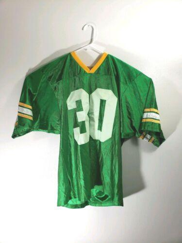 John Deere Football Jersey Green Number 30 Large