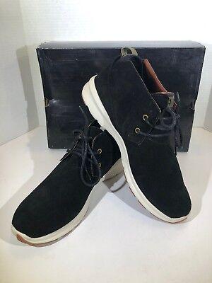 DC Ashlar Mens Size 13 Raven Suede Casual Skateboarding Shoes X18-1251
