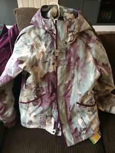 Oakley ski coat with jacket liner size small