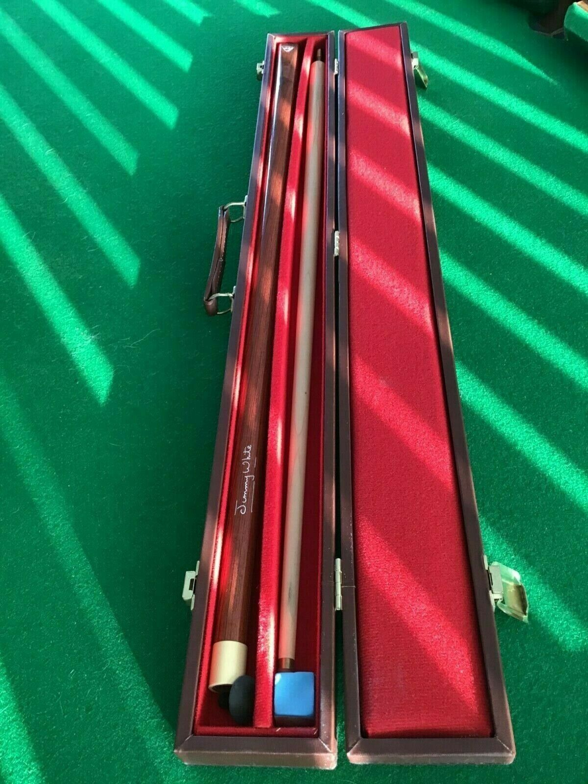 bce 2 piece snooker cue (endorsed by Jimmy White) + case