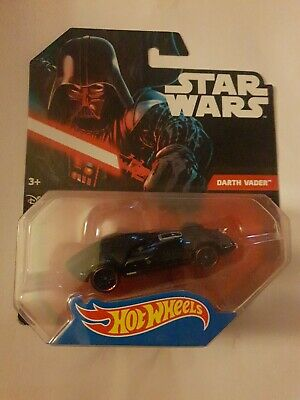 Mattel Hot Wheels Star Wars 1:64 Scale Diecast DARTH VADER Character Car (DTB03)