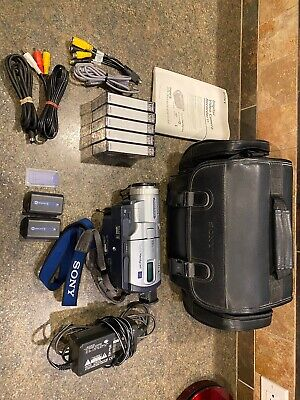 Used, Sony DCR-TRV730 HandyCam Digital Video Camera W/ Sony bag .  !Great condition! for sale  Shipping to India