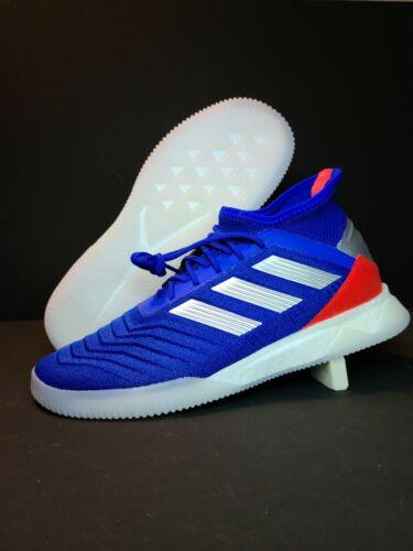 Adidas Predator 19.1 TR Men's Trainer Soccer Shoes Size 8 Bl