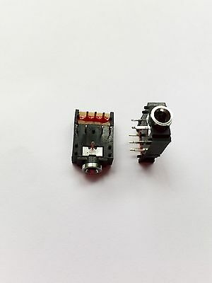 10pcs 8 Pin 18 3.5mm Stereo Jack Headphones Socket With Switch Pcb Panel Mount