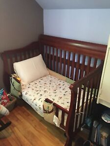 Convertible Crib and Mattress