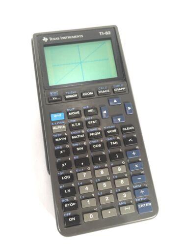 Texas Instruments TI-82 TI82 TI 82 Graphing Calculator TESTED WORKING