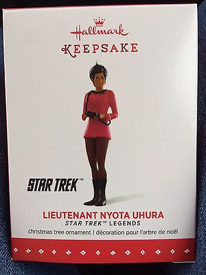 Lieutenant Nyota Uhura Star Trek Legends 2015 Hallmark Keepsake ornament