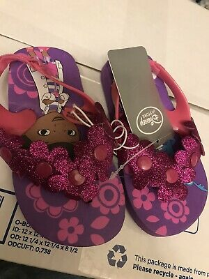 Doc Mcstuffins Girls Toddler Flip Flops Sandals Shoes - Doc Mcstuffin Schuhe