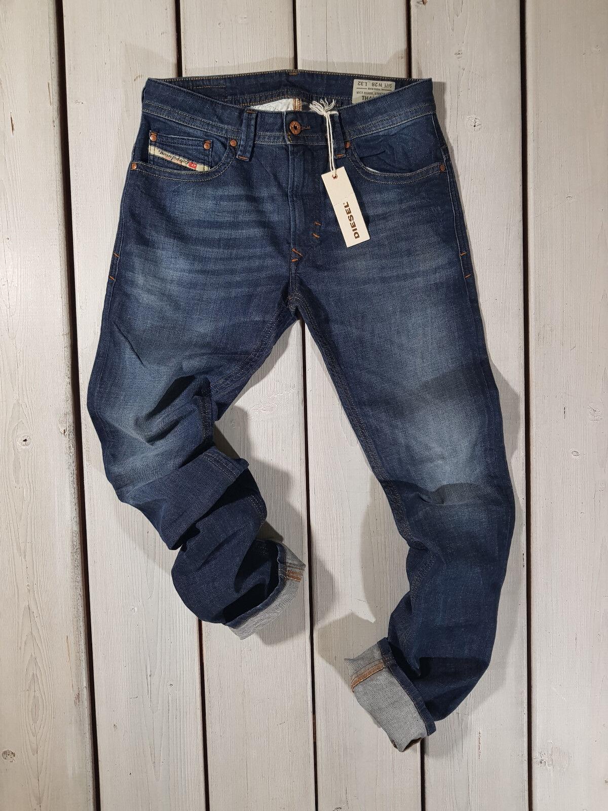 DIESEL THAVAR RV418 Mens Denim Jeans Stretch Slim Fit Skinny