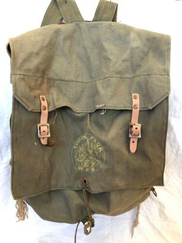 Vintage BSA Boy Scouts Of America Yucca No. 185 Pack Backpack Bag Rucksack